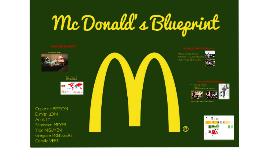 Mc Donald's Blueprint
