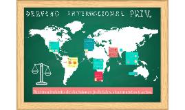 Reconocimiento de Decisiones Judiciales, Documentos y Actos.