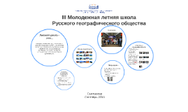 Copy of III Молодежная летняя школа Русского георафического общества