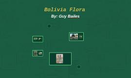 Bolivia Flora
