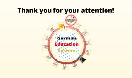 German I: Education System