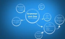 Grammar Unit One