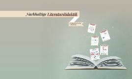 Nachhaltige Literaturdidaktik
