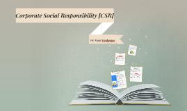CORPORATE SOCIAL RESPONSIBLITY