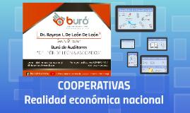 COOPERATIVAS Realidad Económica Nacional