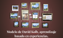 Copy of Modelo de David Kolb, aprendizaje basado en experiencias.
