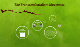The Transcendentalism Movement