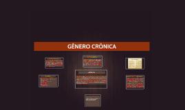 GÊNERO CRÔNICA
