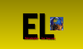 Strategies for EL Students