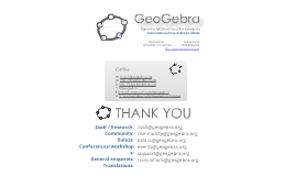 Copy of GeoGebra for ICME PRE-Confecere-ZL
