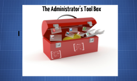 Copy of The Administrator's Toolbox