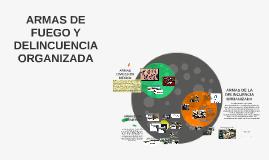ARMAS DE FUEGO Y DELINCUENCIA ORGANIZADA