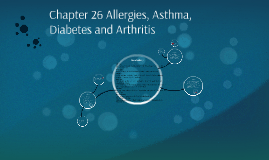 Chapter 26 Allergies, Asthma, Diabetes and Arthritis