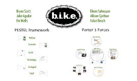 PESTEL Analysis - BIKE