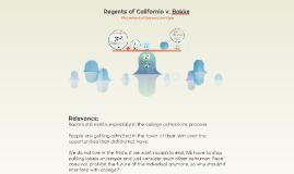 Regents of California vs Bakke