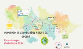 proyecto de eco-diseño: aceite de cocina