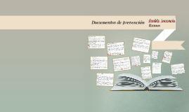 Documentos de prevencion