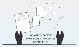 ACOMULACIÓN DE PROCESOS