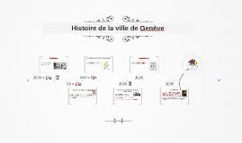 Histoire de la ville de Genève