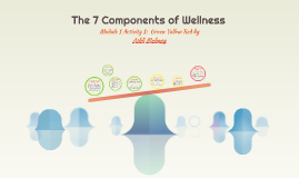 The Seven Components of Wellness