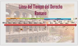 Copy of Línea del Tiempo del Derecho Romano