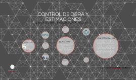 Copy of CONTROL DE OBRA Y ESTIMACIONES
