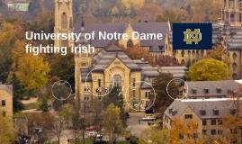 Copy of University of Notre Dame