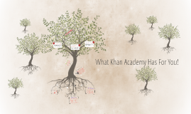 What Khan Academy Has For You!