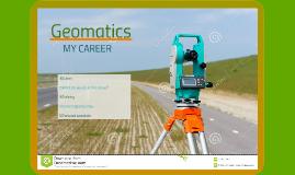 Copy of Geomatics