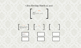 Class Meeting: March 13, 2017