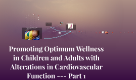 Promoting Optimum Wellness in Children and Adults with Alter