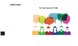 Copy of Casual and Formal speech Styles