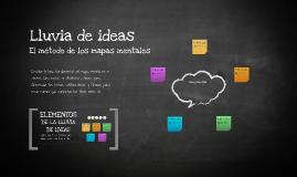 Plantilla Mapas Mentales de Rosina Pérez
