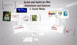 Sozial und digital im Alter - Vortrag auf Social Media Week Berlin 2013