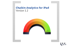 Chaikin Analytics for iPad v1.2