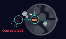 Que es blog?
