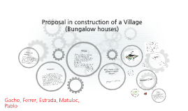 Copy of A Proposal to the Construction of Bungalow Village