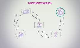 HOW TO WRITE YOUR ODE
