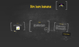 BIM BAM BANANA is a company dedicated to the sale of tupperw