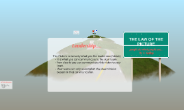 Copy of THE LAW OF THE PICTURE