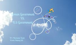 Copy of Roman Government VS. U.S Government