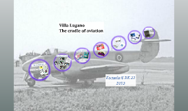 Copy of Aviation in Lugano - Project