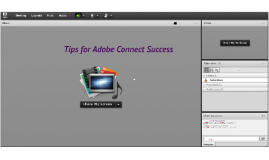 Adobe Connect: Tips for Success
