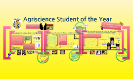 Copy of Agriscience Student of the Year