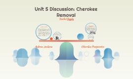 Unit 5 Discussion: Cherokee Removal