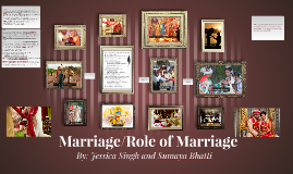 Marriage / Role of Marriage