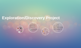 """Discovering"" Project"