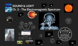 Ch. 3 - The EM Spectrum