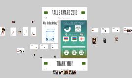 VALUE AWARD 2015