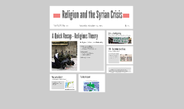 Religion and the Syrian Crisis